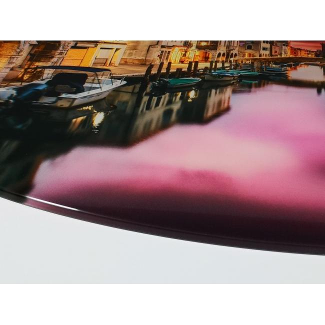 Glasbilder oval